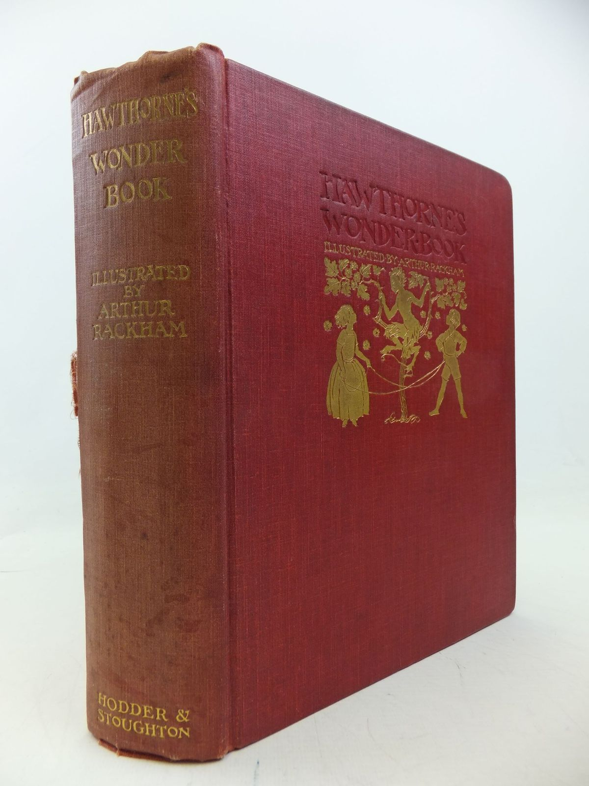 Photo of A WONDER BOOK written by Hawthorne, Nathaniel illustrated by Rackham, Arthur published by Hodder & Stoughton (STOCK CODE: 1710414)  for sale by Stella & Rose's Books