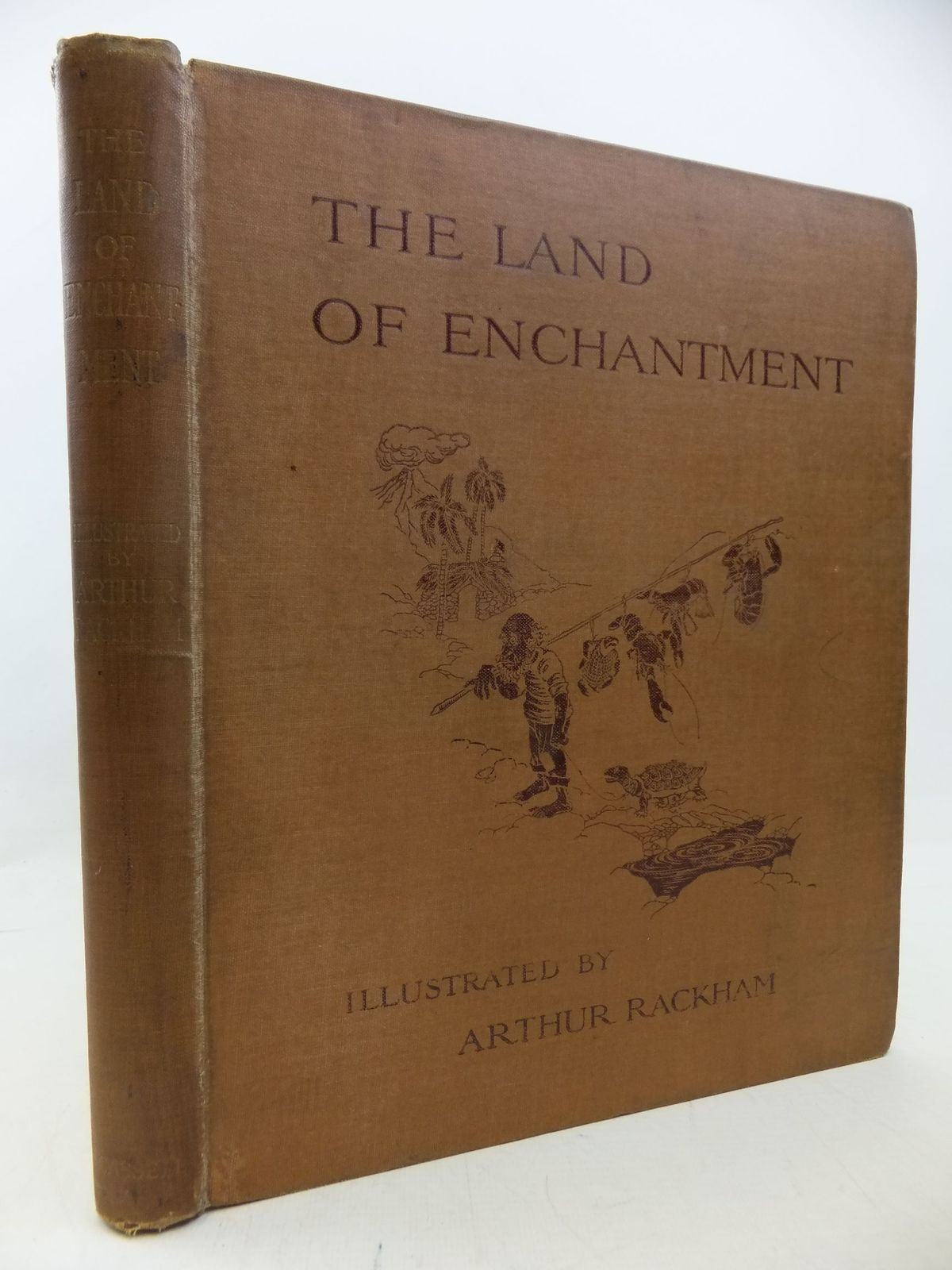 Photo of THE LAND OF ENCHANTMENT written by Bonser, A.E.<br />Woolf, Sidney<br />Bucheim, E.S. illustrated by Rackham, Arthur published by Cassell & Co. Ltd. (STOCK CODE: 1710415)  for sale by Stella & Rose's Books