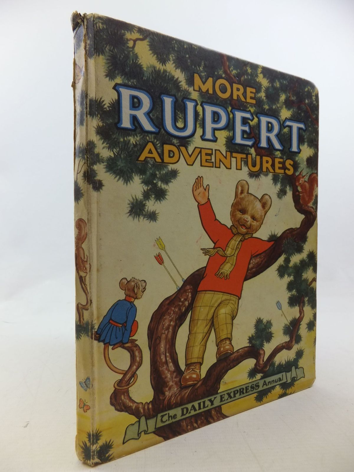 Photo of RUPERT ANNUAL 1952 - MORE RUPERT ADVENTURES written by Bestall, Alfred illustrated by Bestall, Alfred published by Daily Express (STOCK CODE: 1710613)  for sale by Stella & Rose's Books