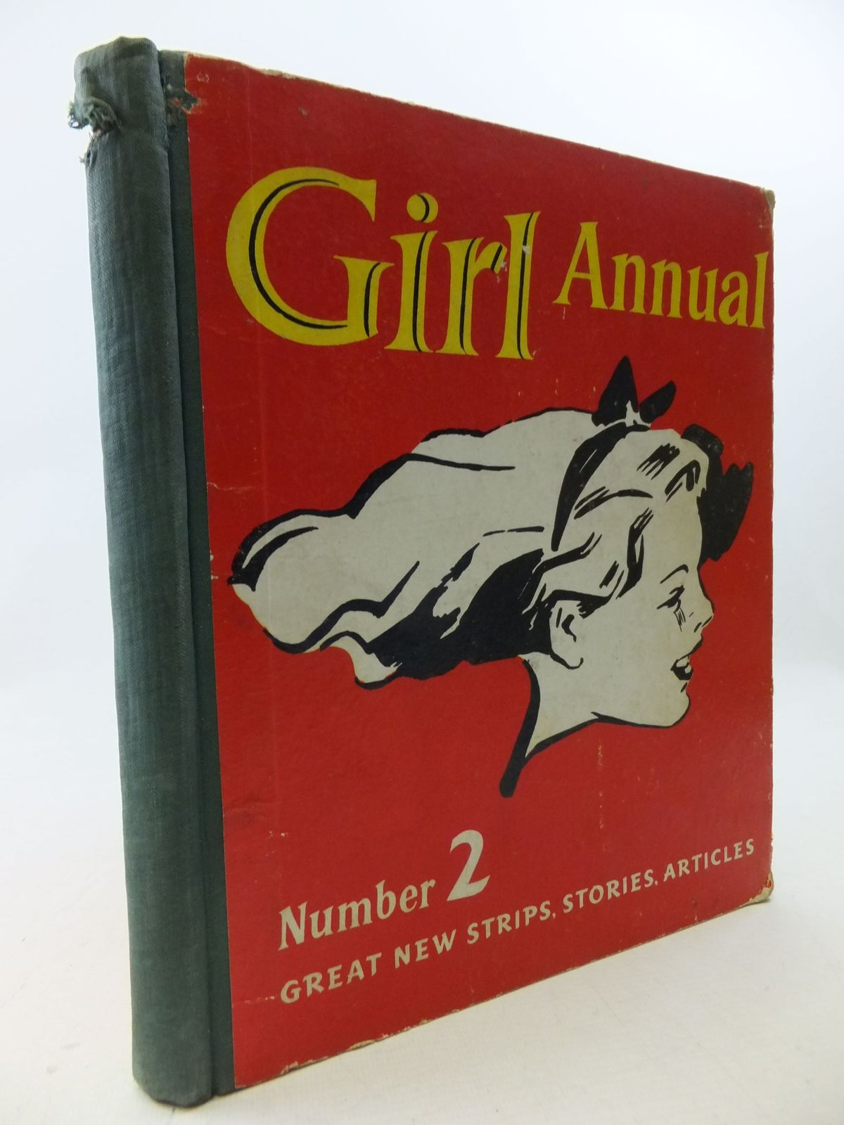 Photo of GIRL ANNUAL NO. 2 written by Morris, Marcus published by Hulton Press Ltd. (STOCK CODE: 1710769)  for sale by Stella & Rose's Books