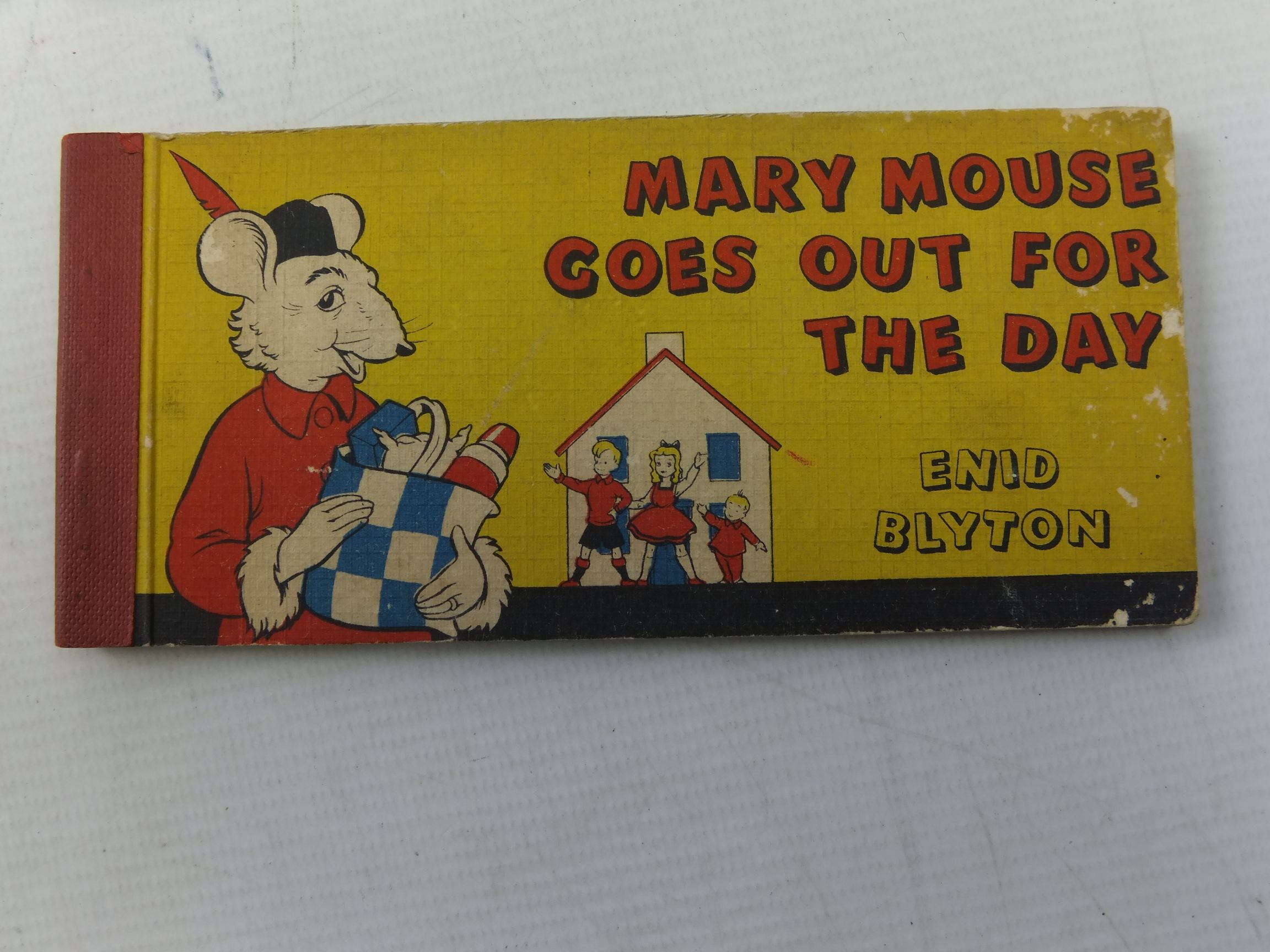 Photo of MARY MOUSE GOES OUT FOR THE DAY written by Blyton, Enid illustrated by White, Fred published by Brockhampton Press (STOCK CODE: 1710790)  for sale by Stella & Rose's Books