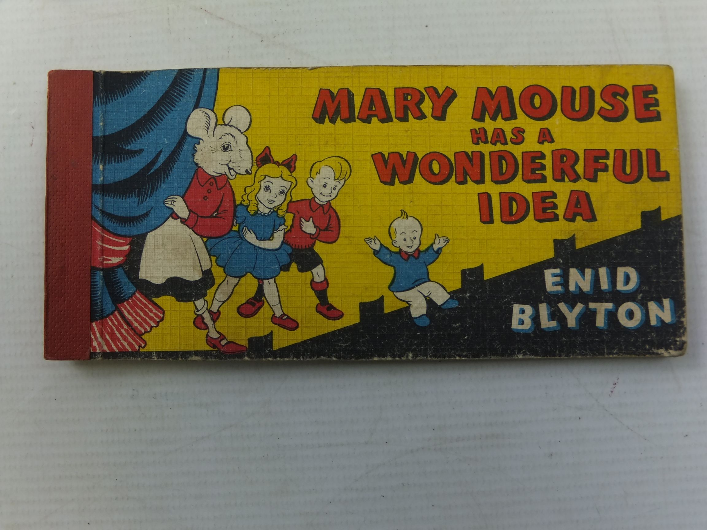 Photo of MARY MOUSE HAS A WONDERFUL IDEA written by Blyton, Enid illustrated by White, Fred published by Brockhampton Press (STOCK CODE: 1710793)  for sale by Stella & Rose's Books