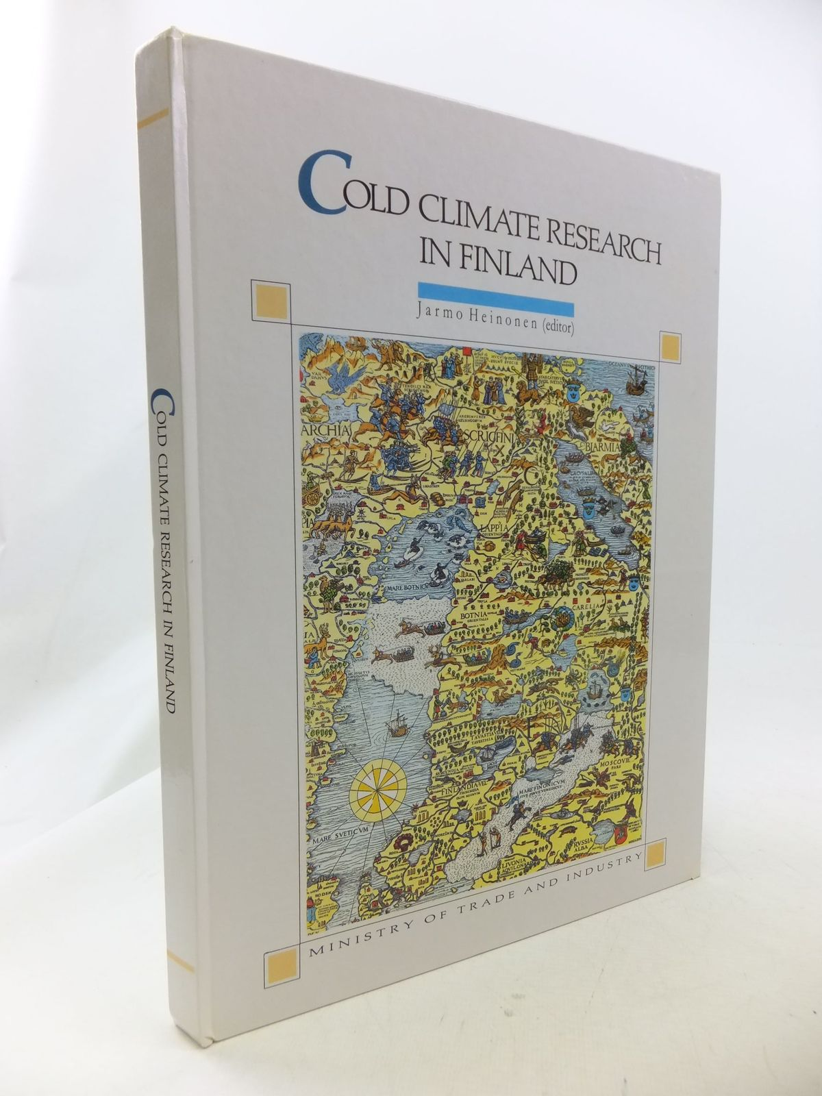 Photo of COLD CLIMATE RESEARCH IN FINLAND written by Heinonen, Jarmo<br />et al, published by Ministry Of Trade And Industry (STOCK CODE: 1710871)  for sale by Stella & Rose's Books