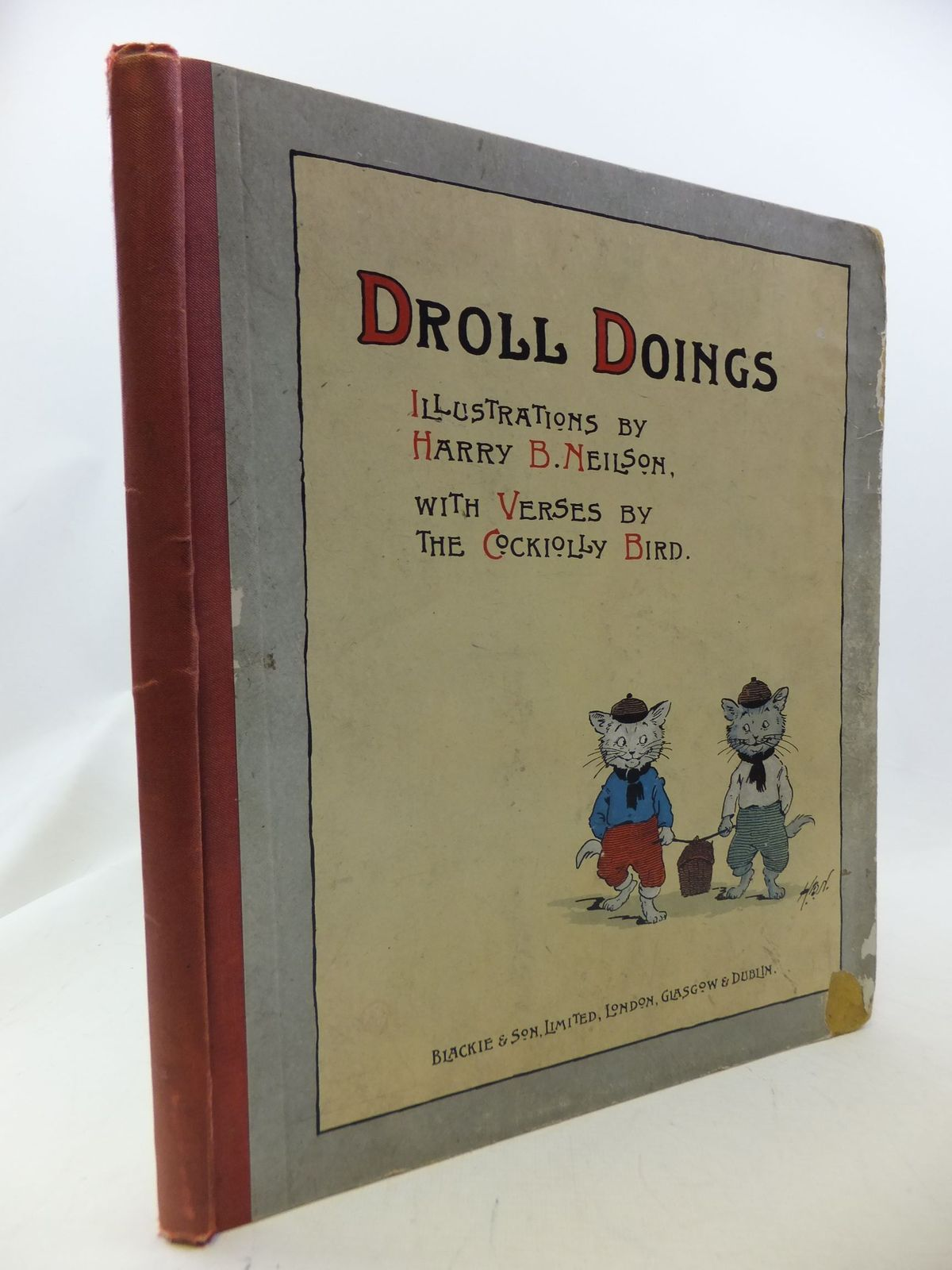 Photo of DROLL DOINGS written by The Cockiolly Bird,  illustrated by Neilson, Harry published by Blackie & Son Ltd. (STOCK CODE: 1710936)  for sale by Stella & Rose's Books