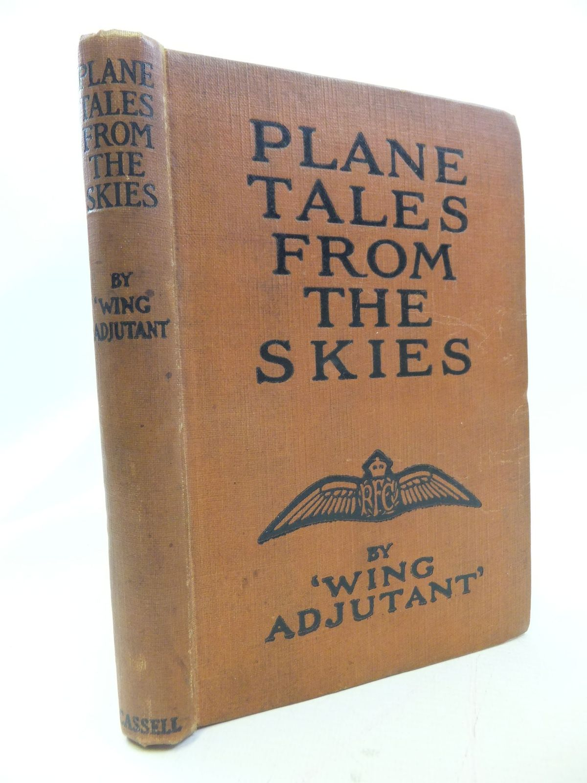 Photo of PLANE TALES FROM THE SKIES written by Wing Adjutant,  published by Cassell & Company Ltd (STOCK CODE: 1710998)  for sale by Stella & Rose's Books