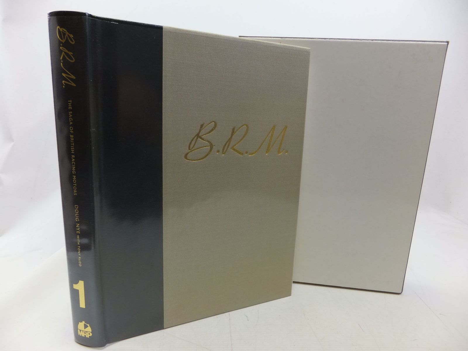 Photo of B.R.M. THE SAGA OF BRITISH RACING MOTORS VOLUME 1 written by Nye, Doug<br />Rudd, Tony published by Motor Racing Publications Ltd. (STOCK CODE: 1711152)  for sale by Stella & Rose's Books