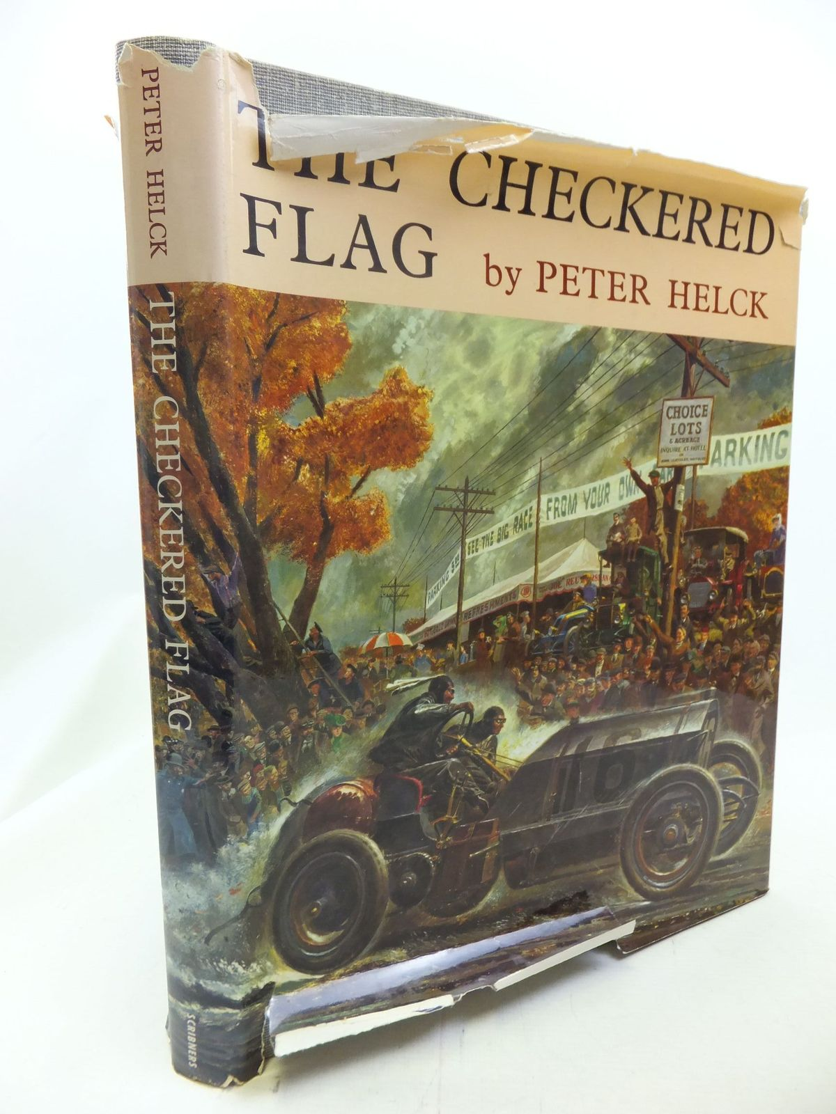 Photo of THE CHECKERED FLAG written by Helck, Peter illustrated by Helck, Peter published by Charles Scribner's Sons (STOCK CODE: 1711239)  for sale by Stella & Rose's Books