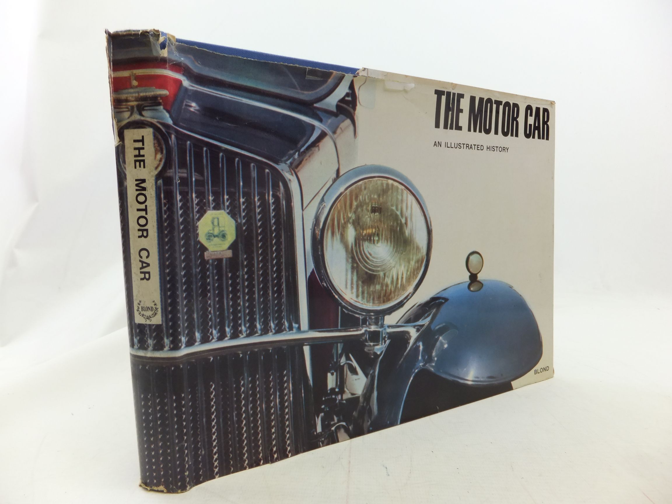 Photo of THE MOTOR CAR AN ILLUSTRATED HISTORY written by Marin, Gianni<br />Mattei, Andrea published by Anthony Blond (STOCK CODE: 1711267)  for sale by Stella & Rose's Books