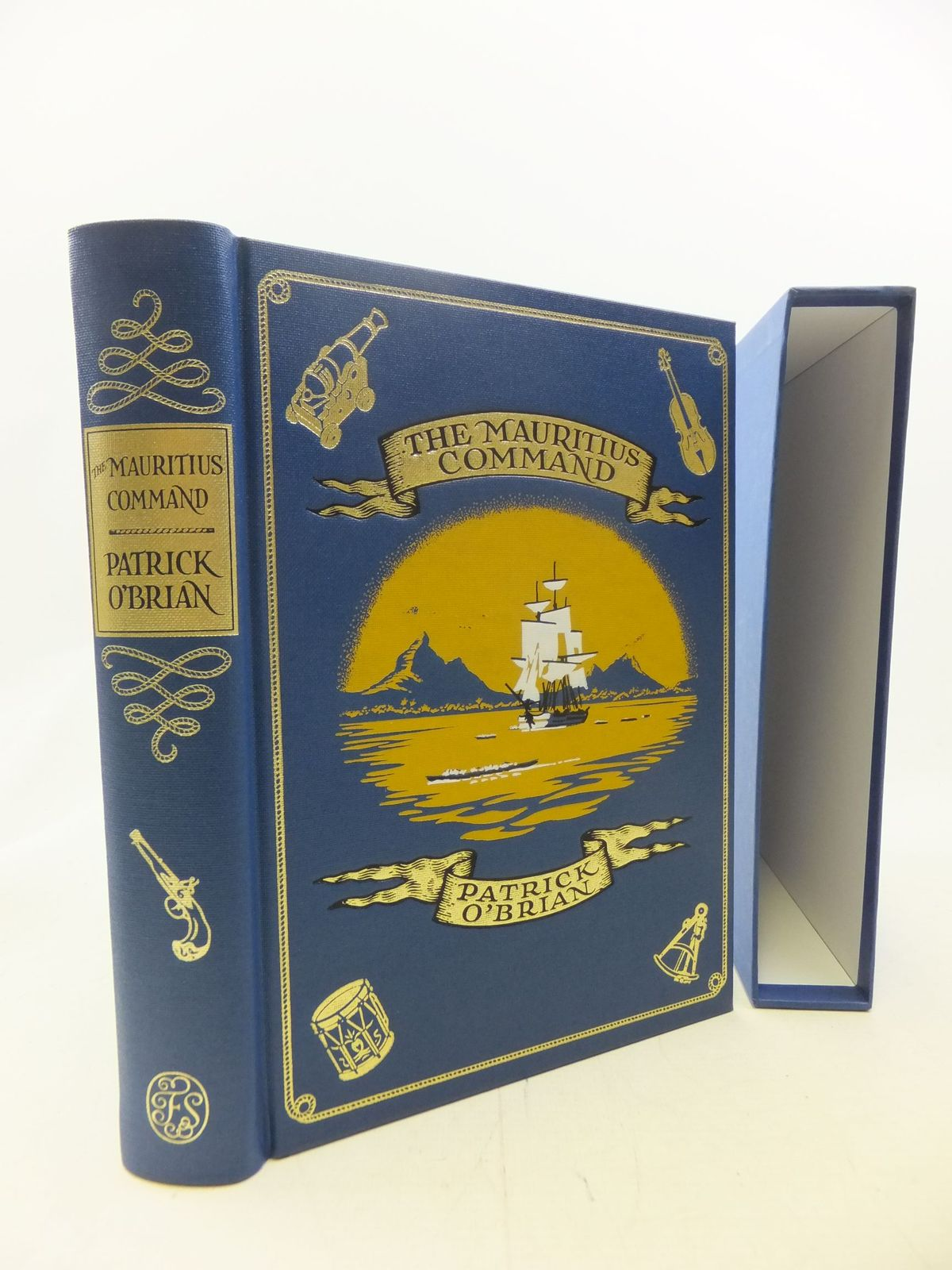 Photo of THE MAURITIUS COMMAND written by O'Brian, Patrick published by Folio Society (STOCK CODE: 1711281)  for sale by Stella & Rose's Books