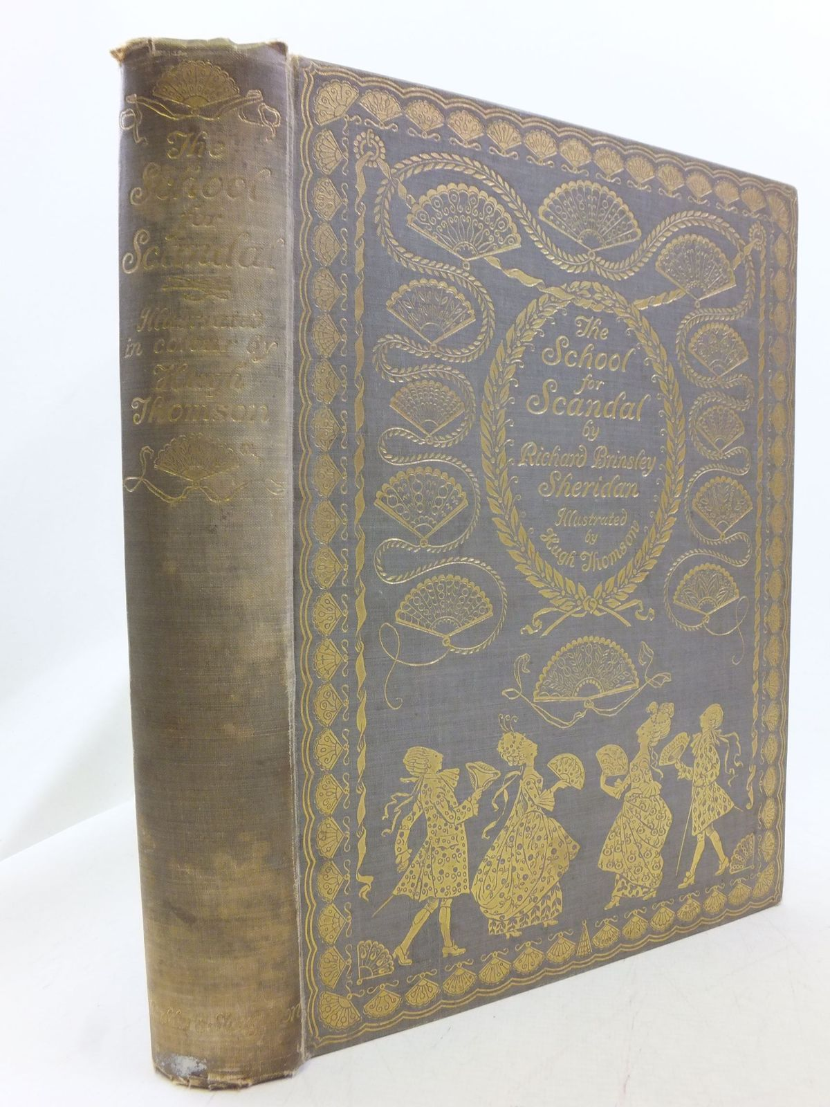 Photo of THE SCHOOL FOR SCANDAL written by Sheridan, Richard Brinsley illustrated by Thomson, Hugh published by Hodder & Stoughton (STOCK CODE: 1711332)  for sale by Stella & Rose's Books
