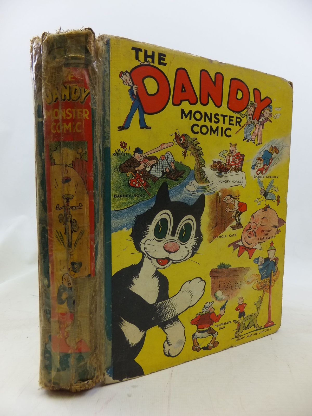 Photo of THE DANDY MONSTER COMIC 1939 published by D.C. Thomson & Co Ltd. (STOCK CODE: 1711384)  for sale by Stella & Rose's Books