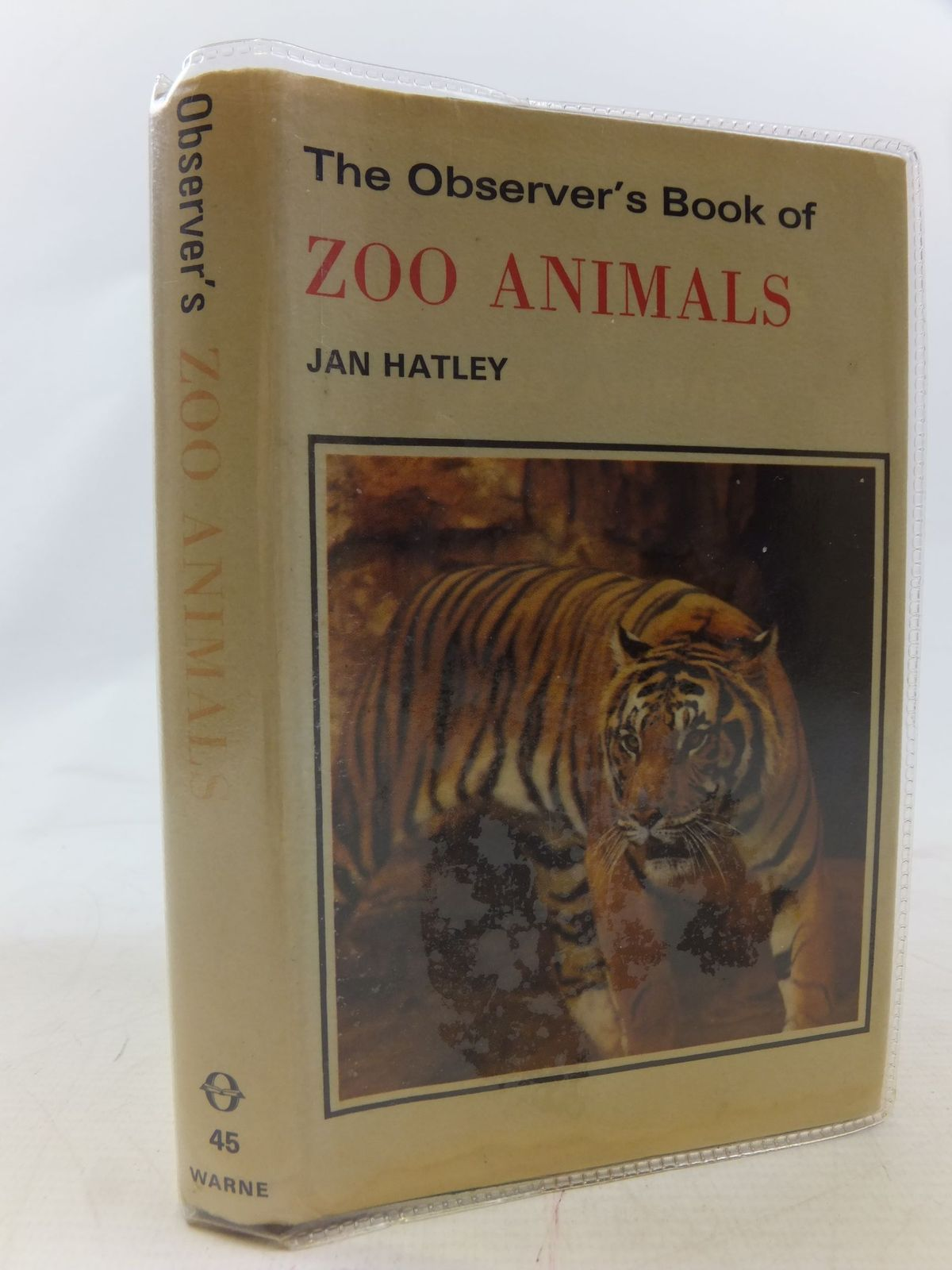 Photo of THE OBSERVER'S BOOK OF ZOO ANIMALS written by Hatley, Jan published by Frederick Warne (STOCK CODE: 1711591)  for sale by Stella & Rose's Books