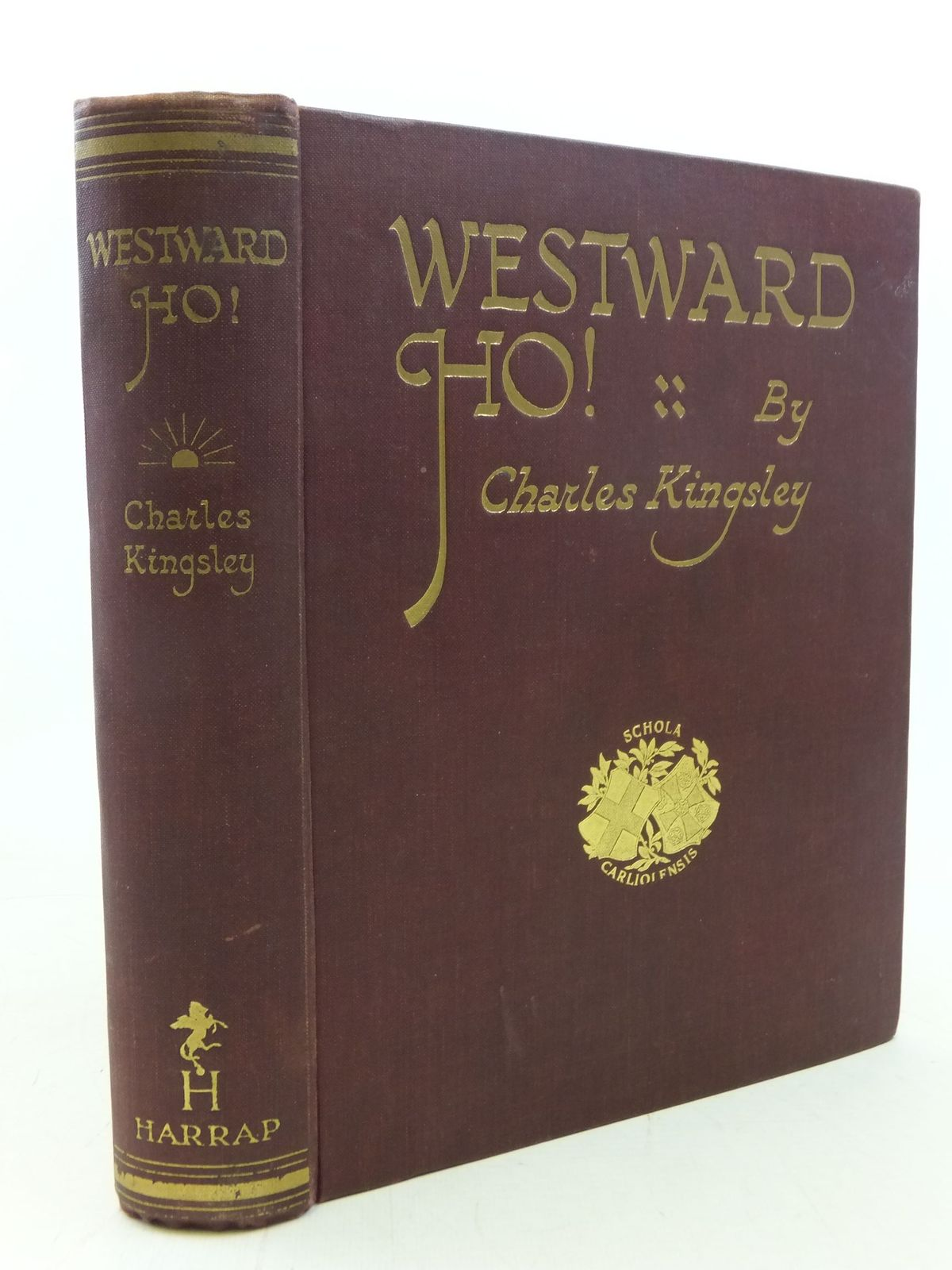 Photo of WESTWARD HO! written by Kingsley, Charles illustrated by Silas, Ellis published by George G. Harrap & Co. Ltd. (STOCK CODE: 1711619)  for sale by Stella & Rose's Books