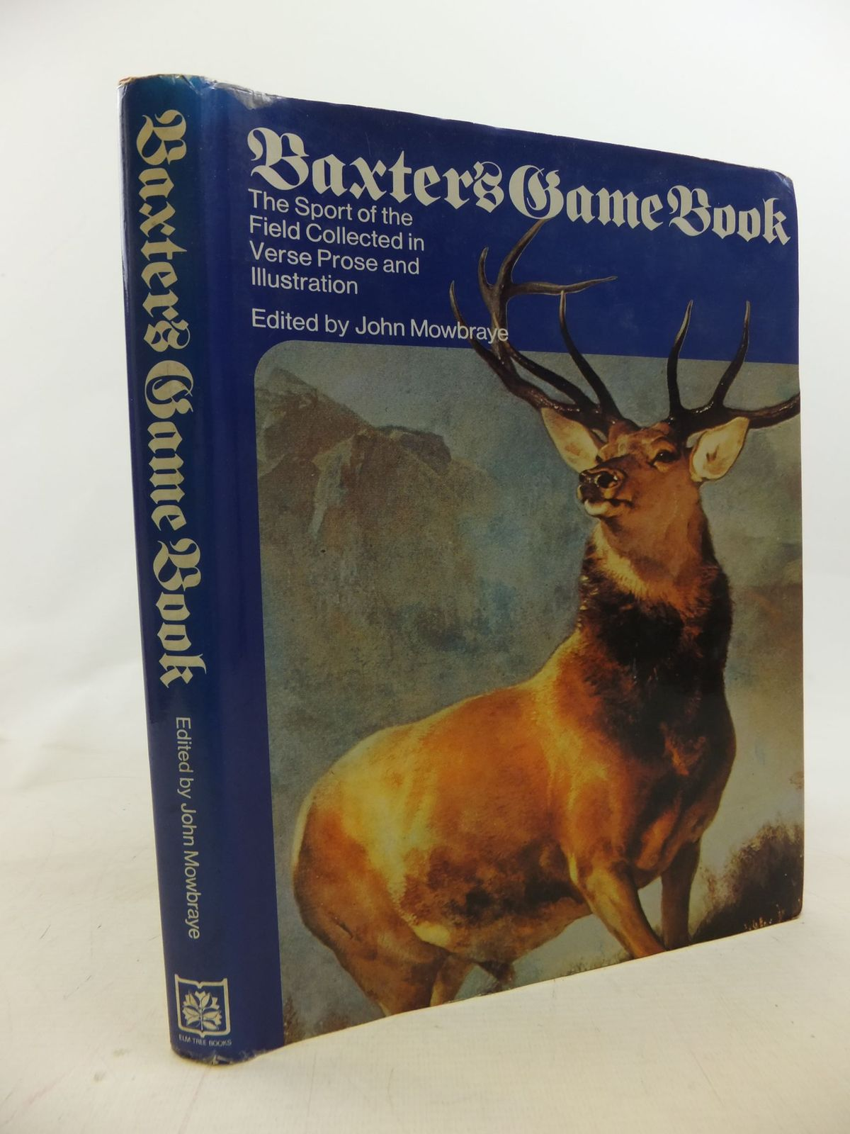Photo of BAXTER'S GAME BOOK written by Mowbraye, John illustrated by Roberts, John published by Elm Tree Books (STOCK CODE: 1711636)  for sale by Stella & Rose's Books