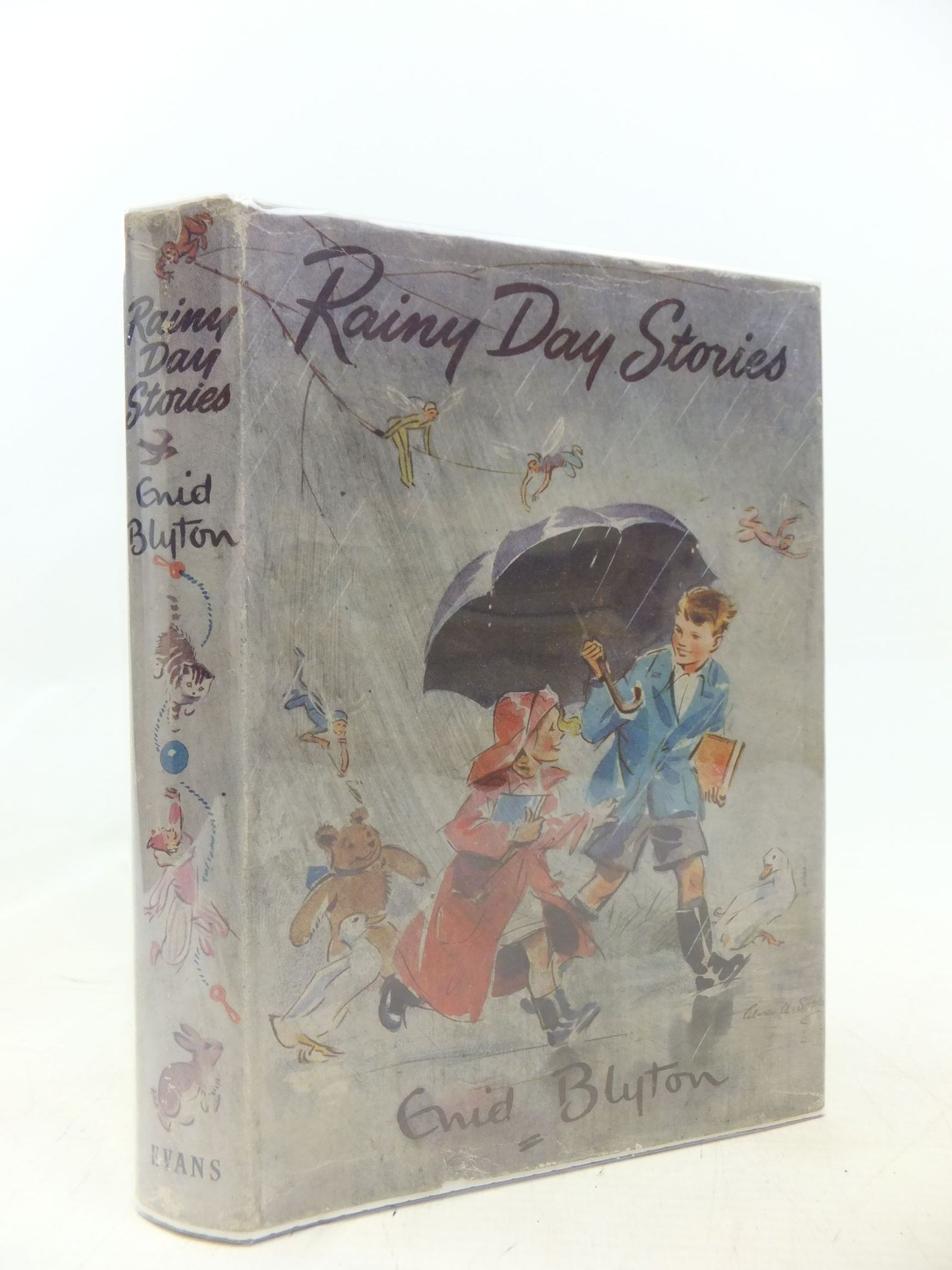 Photo of RAINY DAY STORIES written by Blyton, Enid illustrated by Unwin, Nora published by Evans Brothers (STOCK CODE: 1711718)  for sale by Stella & Rose's Books
