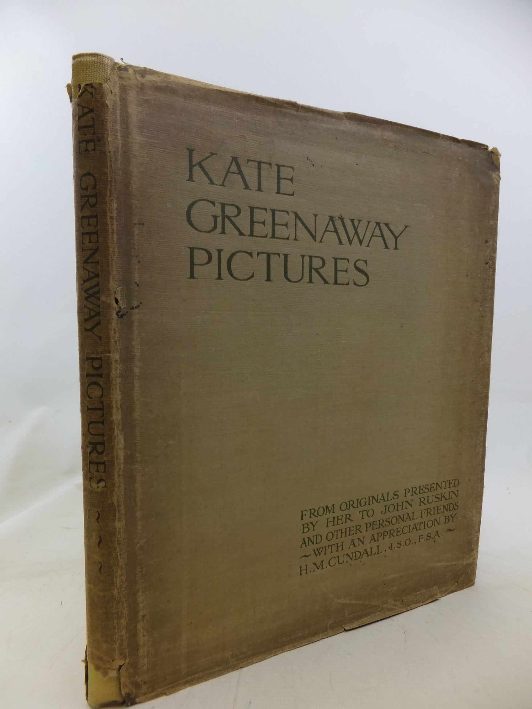 Photo of KATE GREENAWAY PICTURES written by Cundall, H.M. illustrated by Greenaway, Kate published by Frederick Warne & Co Ltd. (STOCK CODE: 1711740)  for sale by Stella & Rose's Books