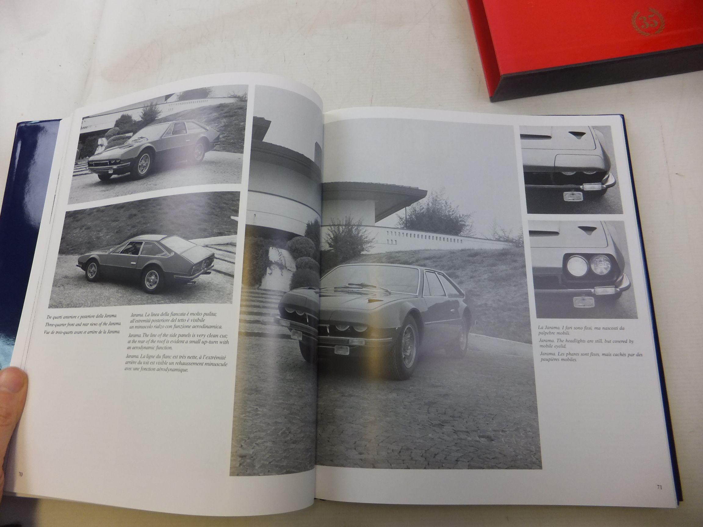 automobili lamborghini catalogue raisonne 1963 1998. Black Bedroom Furniture Sets. Home Design Ideas