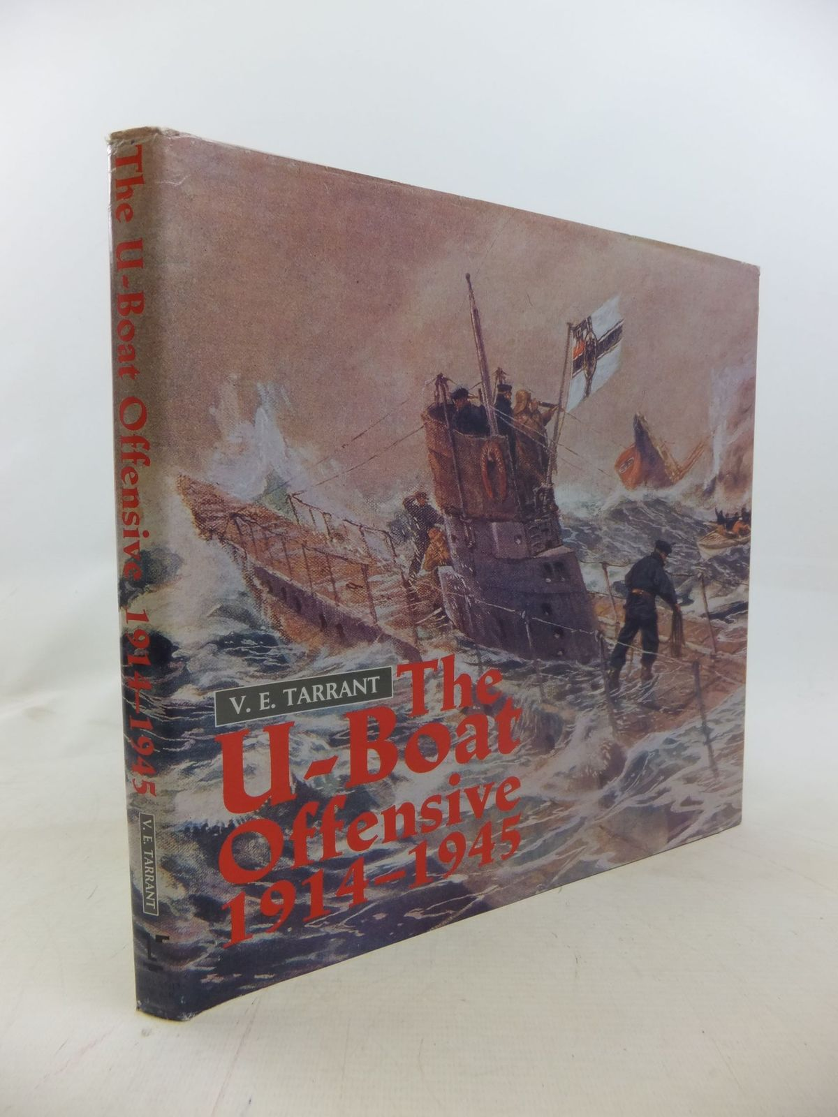 Photo of THE U-BOAT OFFENSIVE 1914-1945 written by Tarrant, V.E. published by Arms & Armour Press (STOCK CODE: 1711947)  for sale by Stella & Rose's Books