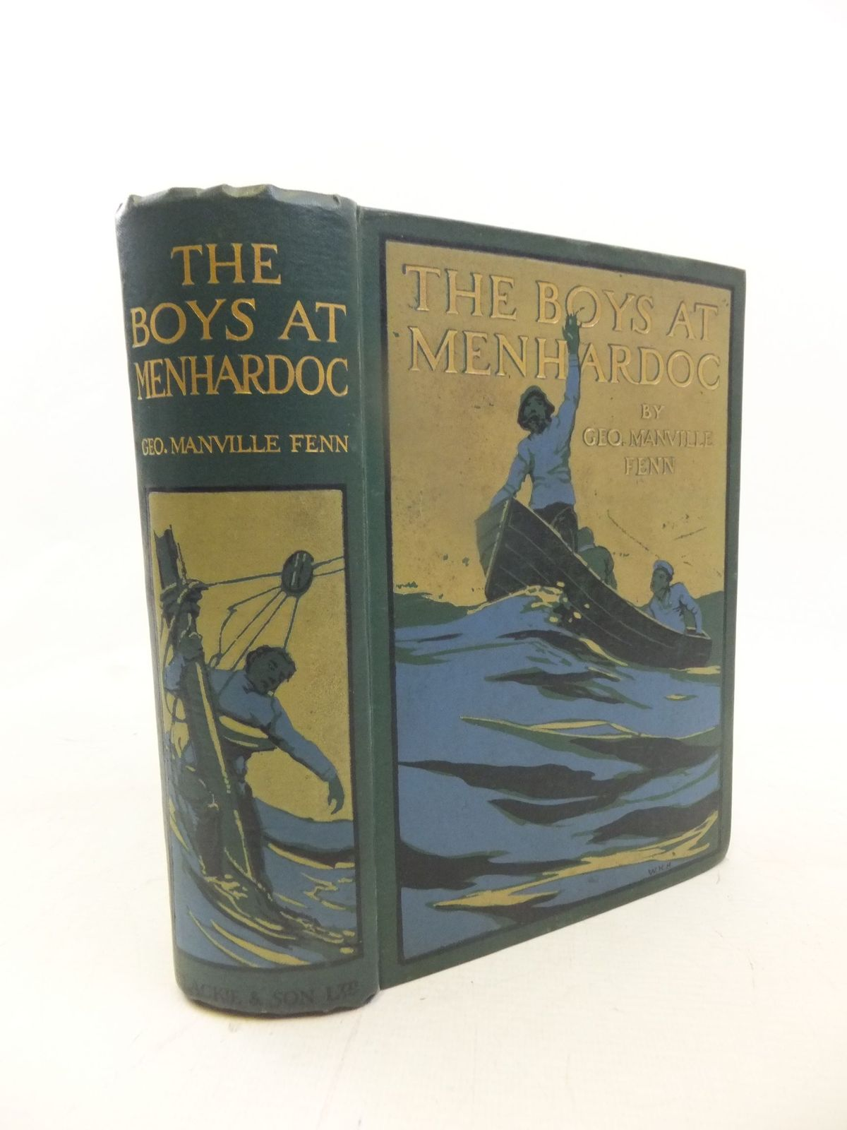 Photo of THE BOYS AT MENHARDOC written by Fenn, George Manville illustrated by Staniland, C.J. published by Blackie & Son Ltd. (STOCK CODE: 1711989)  for sale by Stella & Rose's Books