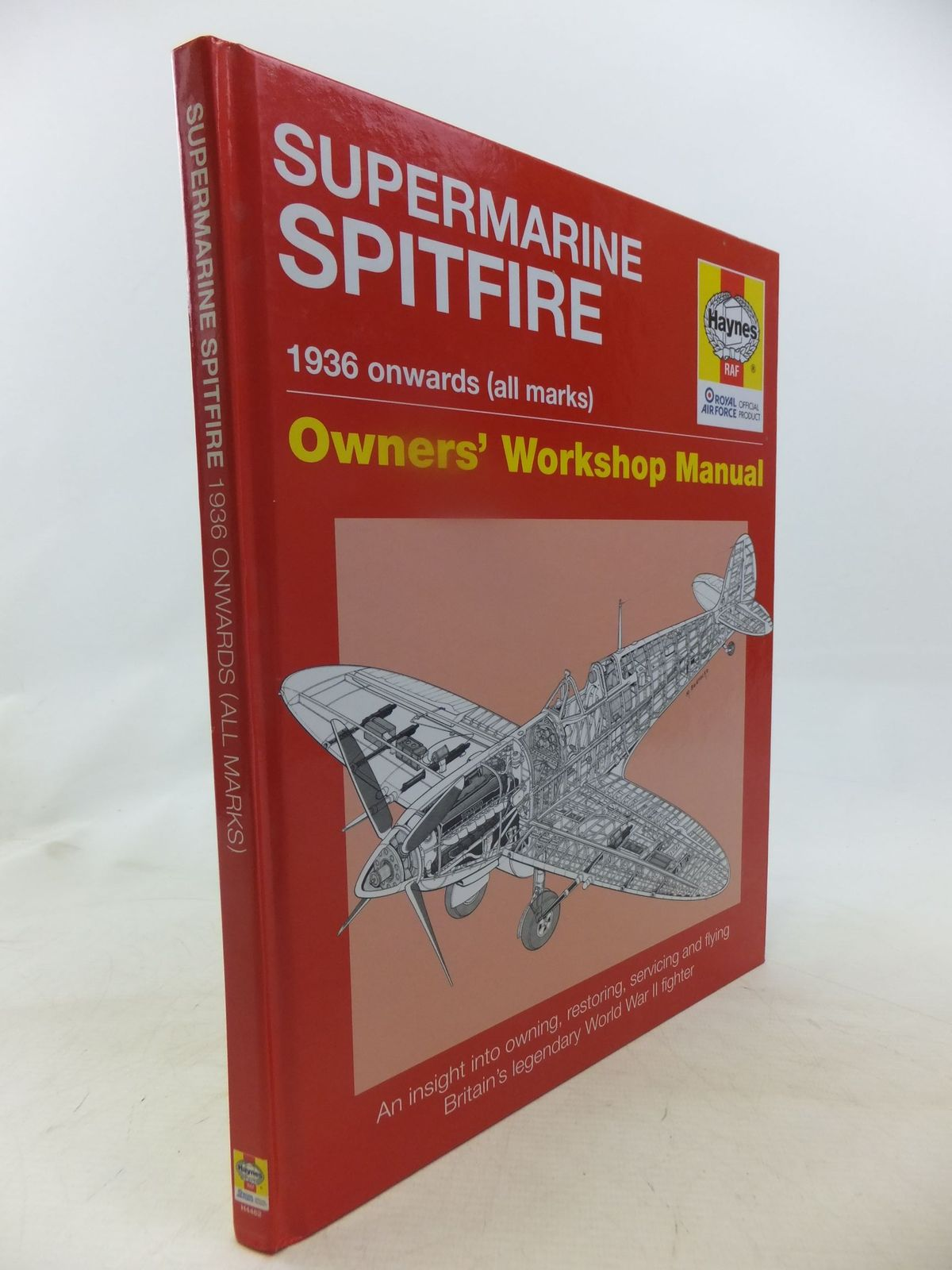 Photo of SUPERMARINE SPITFIRE OWNERS' WORKSHOP MANUAL written by Price, Alfred<br />Blackah, Paul published by Haynes (STOCK CODE: 1712040)  for sale by Stella & Rose's Books