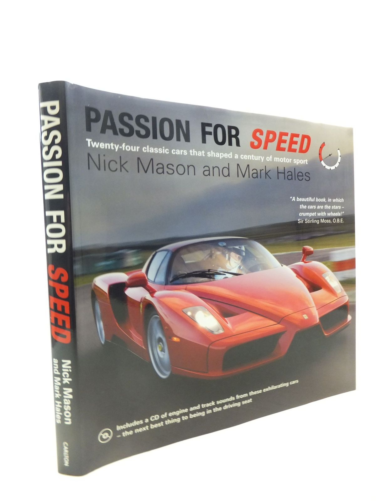 Photo of PASSION FOR SPEED written by Mason, Nick<br />Hales, Mark published by Carlton Books Limited (STOCK CODE: 1712262)  for sale by Stella & Rose's Books