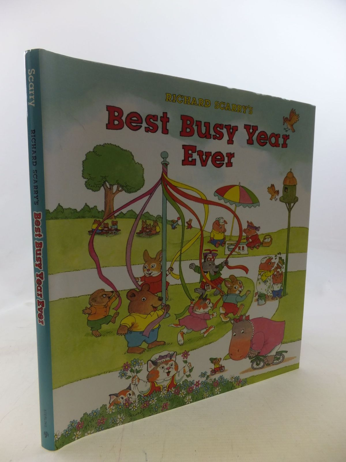 Photo of RICHARD SCARRY'S BEST BUSY YEAR EVER written by Scarry, Richard illustrated by Scarry, Richard published by Sterling Publishing Co., Inc. (STOCK CODE: 1712404)  for sale by Stella & Rose's Books