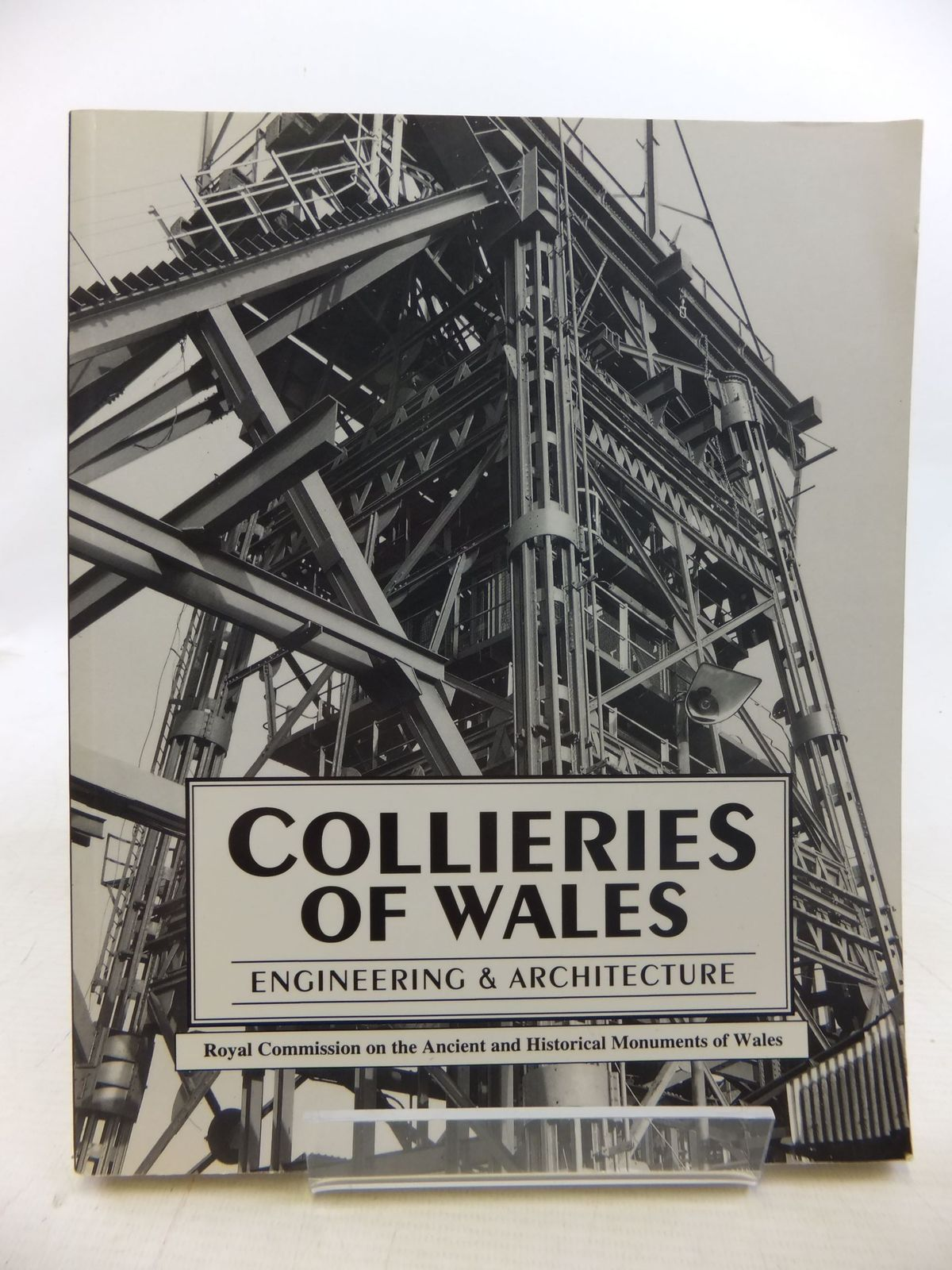 Photo of COLLIERIES OF WALES ENGINEERING & ARCHITECTURE written by Hughes, Stephen<br />et al,  published by The Royal Commission on Ancient and Historical Monuments in Wales (STOCK CODE: 1712421)  for sale by Stella & Rose's Books