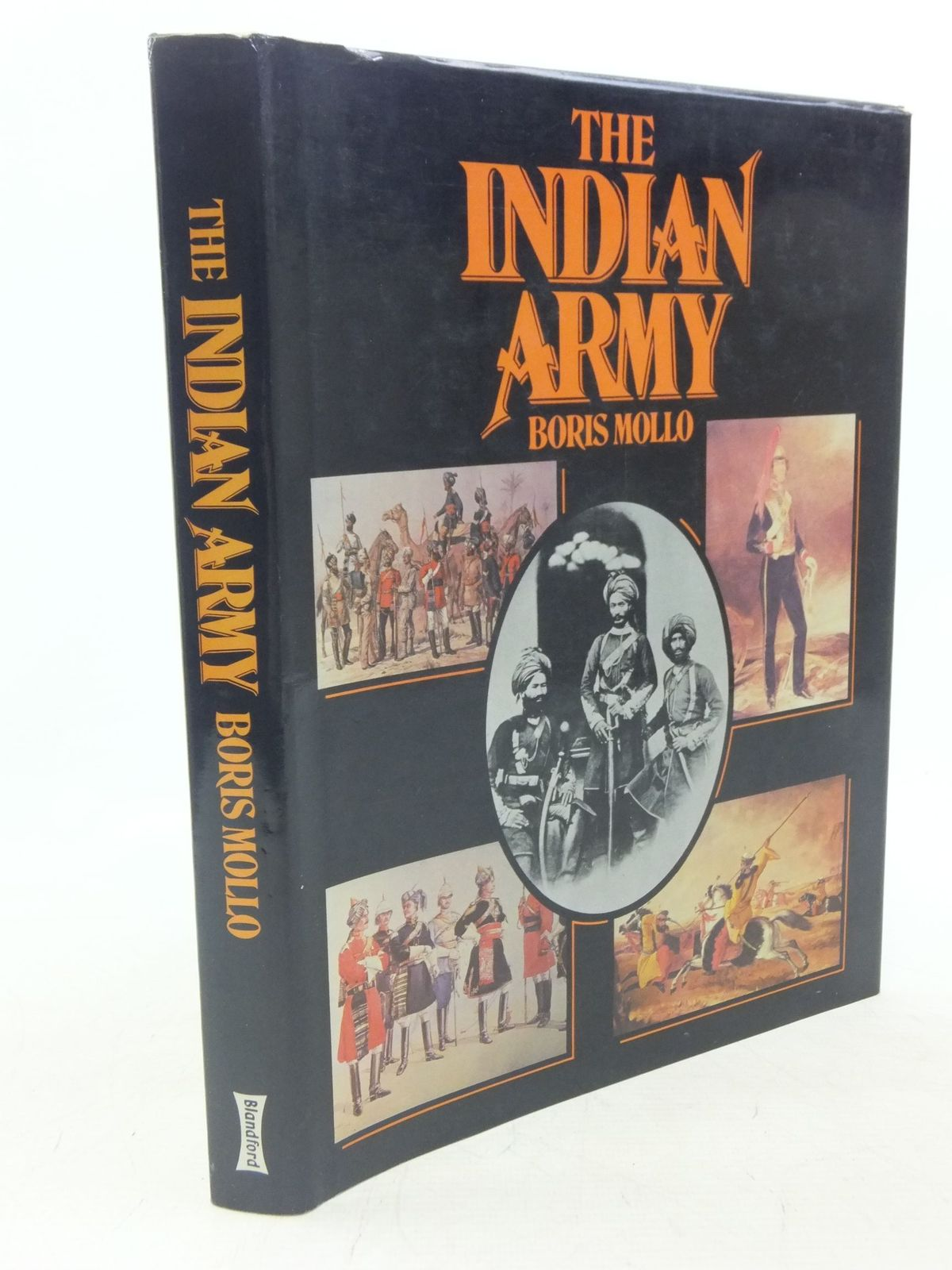 Photo of THE INDIAN ARMY written by Mollo, Boris published by Blandford Press (STOCK CODE: 1712490)  for sale by Stella & Rose's Books