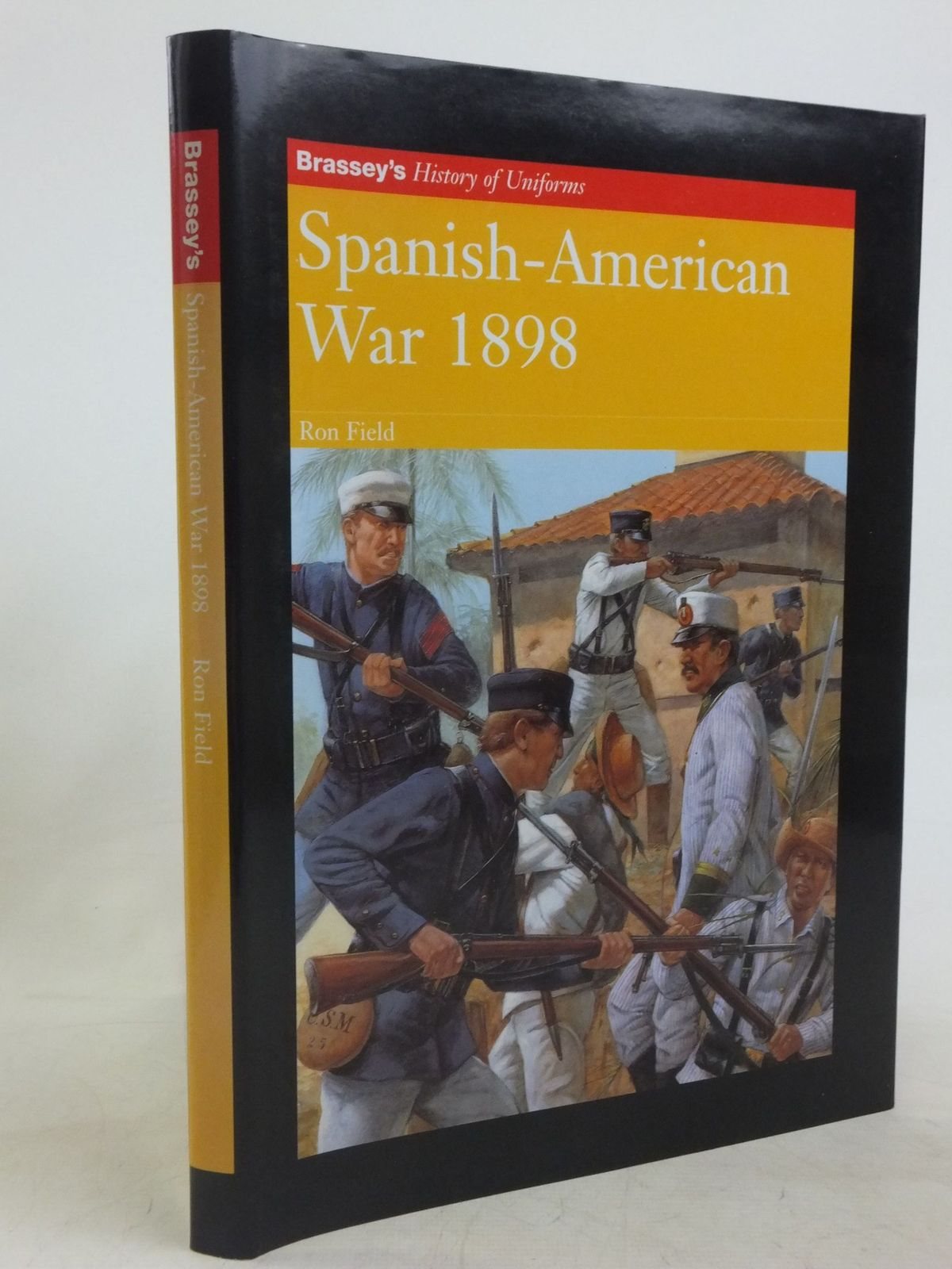 Photo of SPANISH-AMERICAN WAR 1898 written by Field, Ron illustrated by Hook, Richard published by Brassey's (STOCK CODE: 1712533)  for sale by Stella & Rose's Books