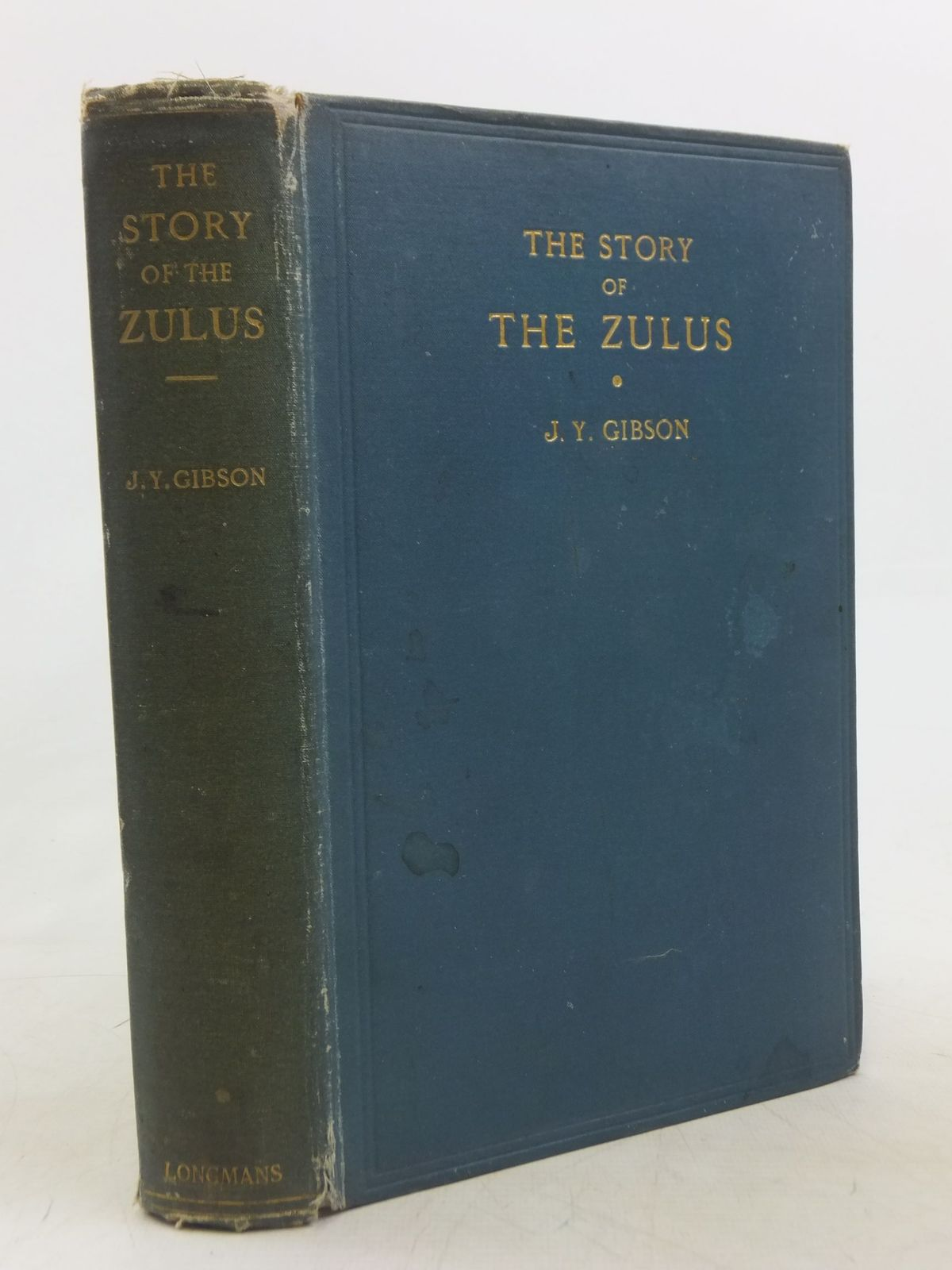 Photo of THE STORY OF THE ZULUS written by Gibson, J.Y. published by Longmans, Green & Co. (STOCK CODE: 1712672)  for sale by Stella & Rose's Books