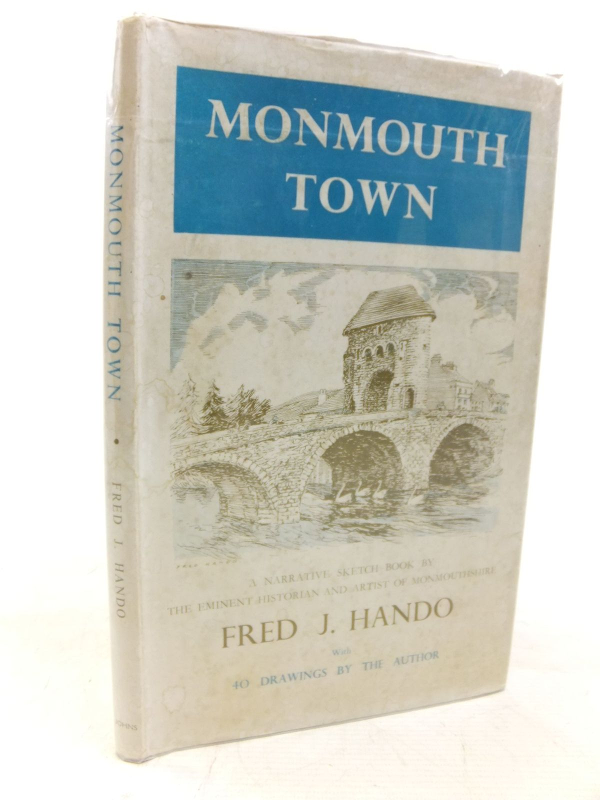 Photo of MONMOUTH TOWN SKETCH BOOK written by Hando, Fred J. illustrated by Hando, Fred J. published by R.H. Johns Limited (STOCK CODE: 1712727)  for sale by Stella & Rose's Books