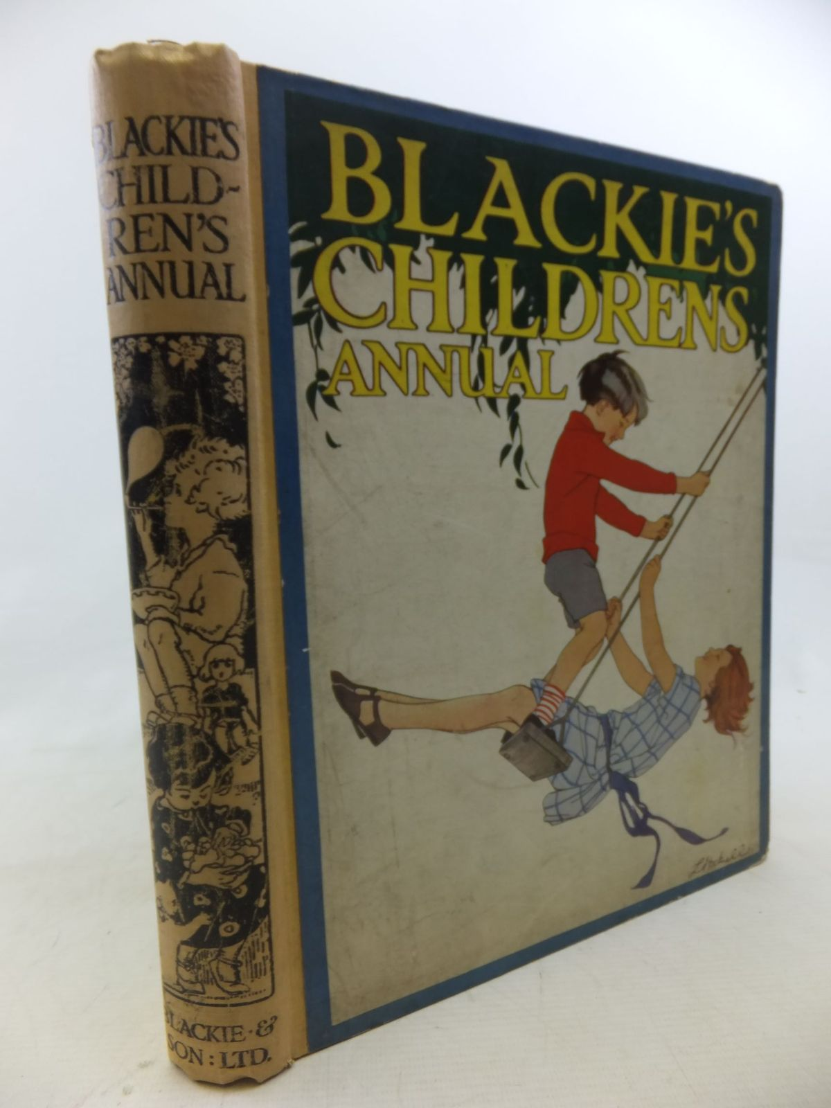 Photo of BLACKIE'S CHILDREN'S ANNUAL written by Brazil, Angela<br />Talbot, Ethel<br />Heward, Constance<br />et al,  illustrated by Brock, H.M.<br />Wood, Lawson<br />Appleton, Honor C.<br />Brisley, Nina K.<br />Cobb, Ruth<br />et al.,  published by Blackie & Son Ltd. (STOCK CODE: 1712885)  for sale by Stella & Rose's Books