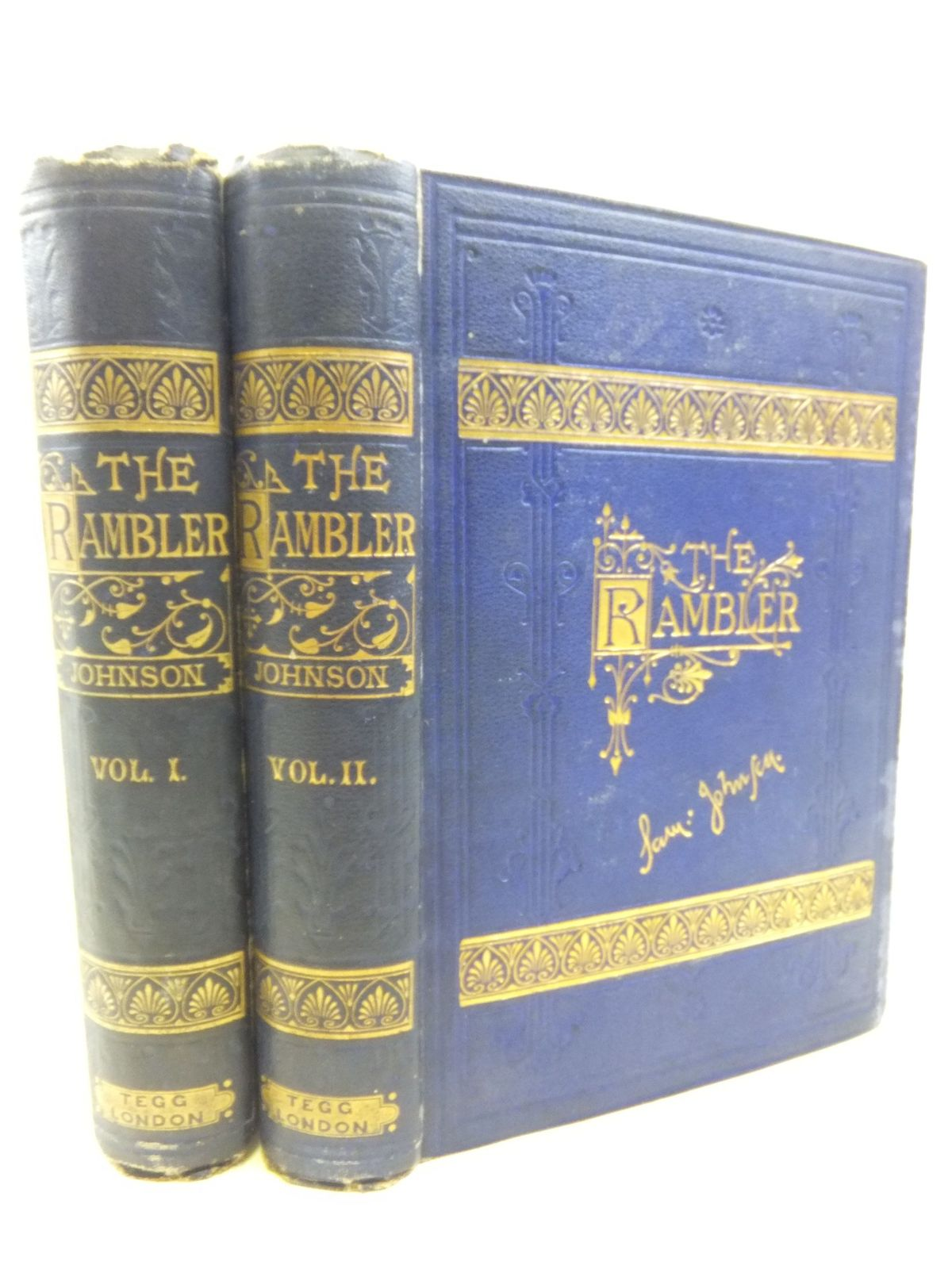 Photo of THE RAMBLER (TWO VOLUMES) written by Johnson, Samuel published by William Tegg & Co. (STOCK CODE: 1712898)  for sale by Stella & Rose's Books