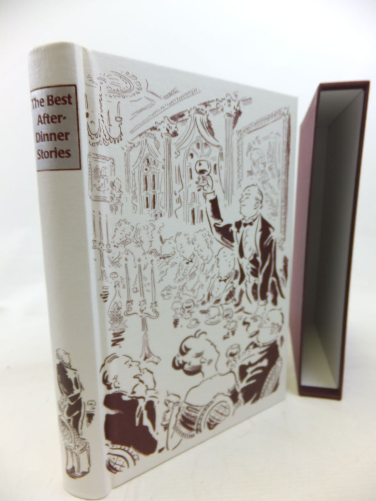 Photo of THE BEST AFTER-DINNER STORIES written by Heald, Tim illustrated by Cox, Paul published by Folio Society (STOCK CODE: 1713334)  for sale by Stella & Rose's Books