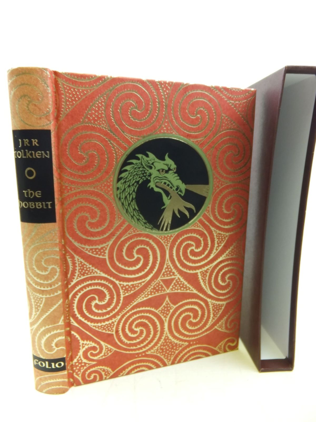 Photo of THE HOBBIT written by Tolkien, J.R.R. illustrated by Fraser, Eric published by Folio Society (STOCK CODE: 1713342)  for sale by Stella & Rose's Books