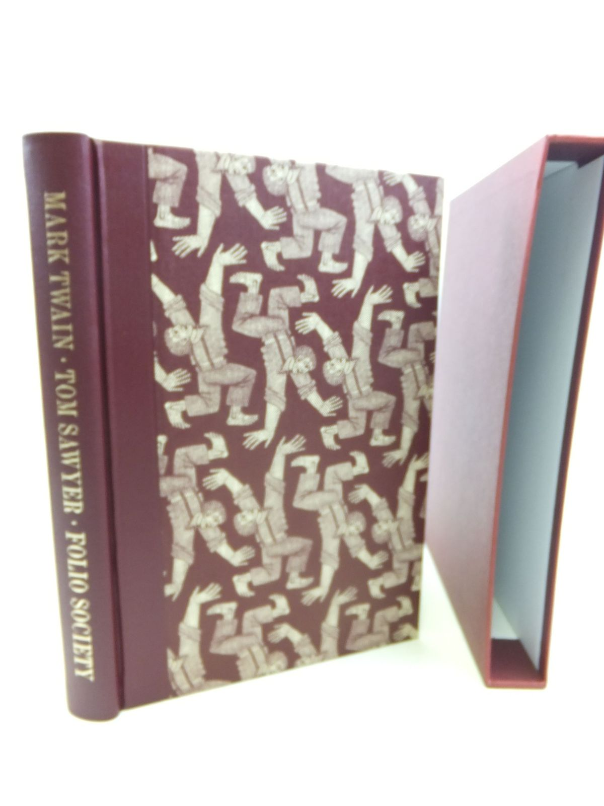 Photo of THE ADVENTURES OF TOM SAWYER written by Twain, Mark illustrated by Brockway, Harry published by Folio Society (STOCK CODE: 1713343)  for sale by Stella & Rose's Books