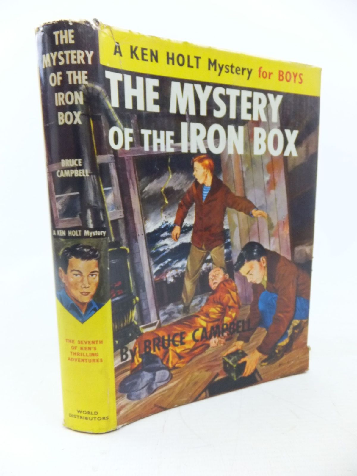 Photo of THE MYSTERY OF THE IRON BOX written by Campbell, Bruce published by World Distributors Ltd. (STOCK CODE: 1713417)  for sale by Stella & Rose's Books
