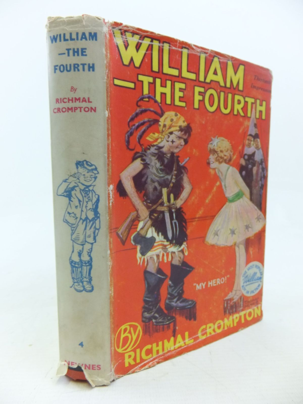 Photo of WILLIAM THE FOURTH written by Crompton, Richmal illustrated by Henry, Thomas published by George Newnes Limited (STOCK CODE: 1713440)  for sale by Stella & Rose's Books