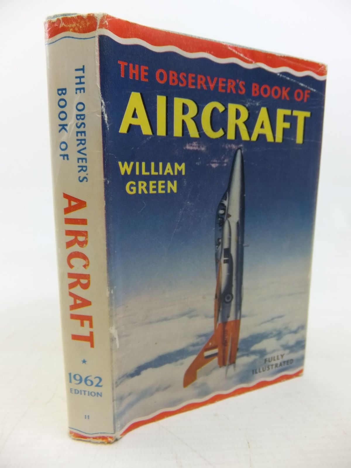 Photo of THE OBSERVER'S BOOK OF AIRCRAFT written by Green, William illustrated by Punnett, Dennis published by Frederick Warne (STOCK CODE: 1713529)  for sale by Stella & Rose's Books