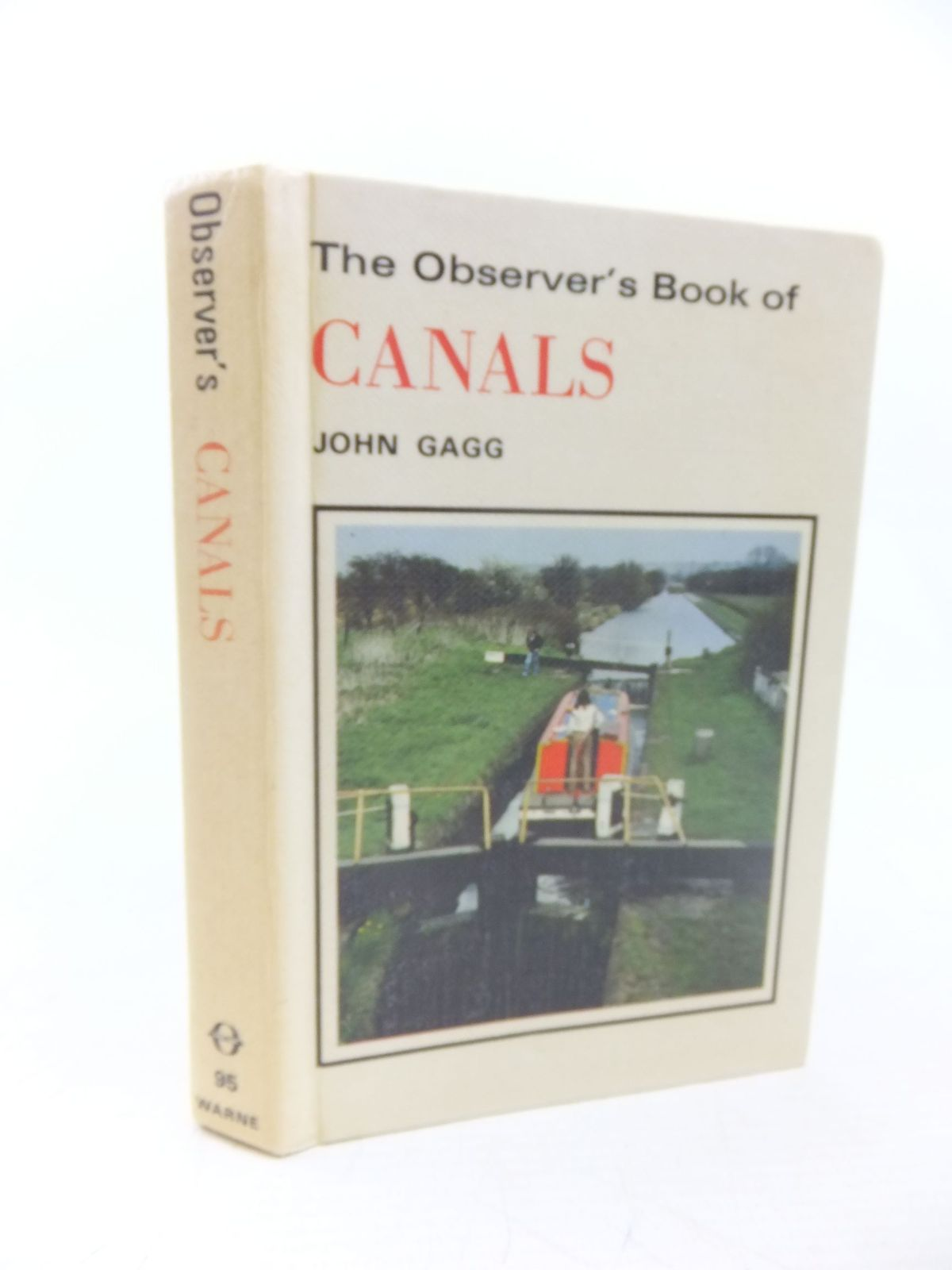 Photo of THE OBSERVER'S BOOK OF CANALS written by Gagg, John illustrated by Wilson, Robert published by Frederick Warne (STOCK CODE: 1713554)  for sale by Stella & Rose's Books