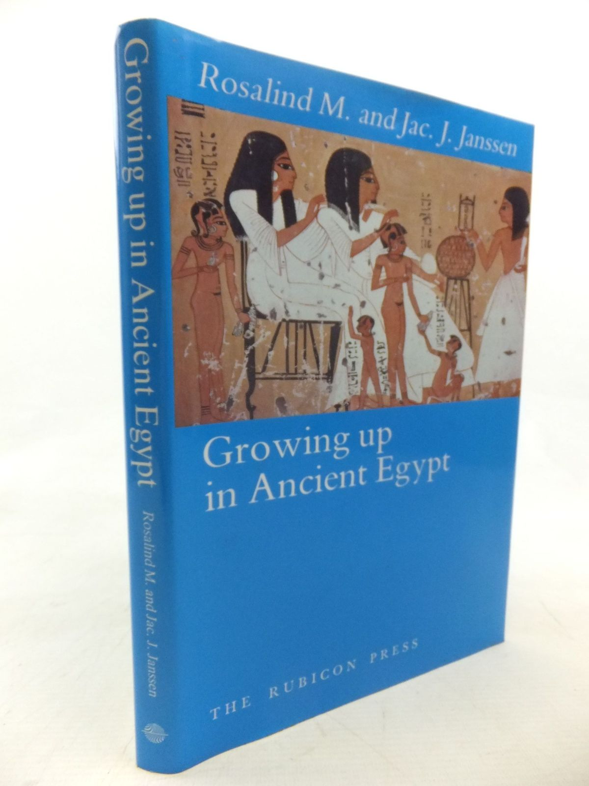 Photo of GROWING UP IN ANCIENT EGYPT written by Janssen, R.M.<br />Janssen, J.J. published by The Rubicon Press (STOCK CODE: 1713604)  for sale by Stella & Rose's Books