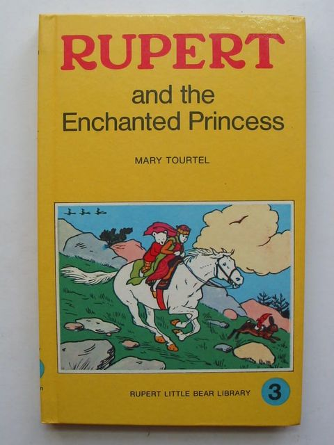 Photo of RUPERT AND THE ENCHANTED PRINCESS - RUPERT LITTLE BEAR LIBRARY No. 3 (WOOLWORTH) written by Tourtel, Mary illustrated by Tourtel, Mary published by Sampson Low, Marston & Co. Ltd. (STOCK CODE: 1801007)  for sale by Stella & Rose's Books