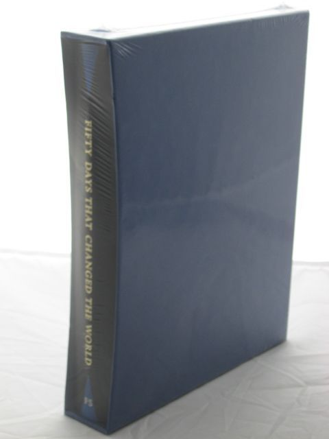 Photo of FIFTY DAYS THAT CHANGED THE WORLD written by Williams, Hywel published by Folio Society (STOCK CODE: 1802032)  for sale by Stella & Rose's Books