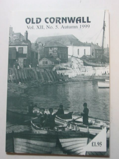 Photo of OLD CORNWALL VOL. XII No. 5 AUTUMN 1999 written by Knight, Terry published by The Federation Of Old Cornwall Societies (STOCK CODE: 1802410)  for sale by Stella & Rose's Books