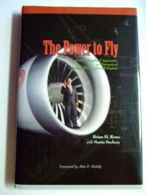 Photo of THE POWER TO FLY written by Rowe, Brian H.<br />Ducheny, Martin published by Pen & Sword Aviation (STOCK CODE: 1802818)  for sale by Stella & Rose's Books