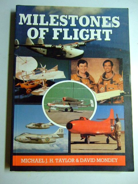 Photo of MILESTONES OF FLIGHT written by Taylor, Michael J.H.<br />Mondey, David published by Jane's Publishing Company (STOCK CODE: 1802854)  for sale by Stella & Rose's Books