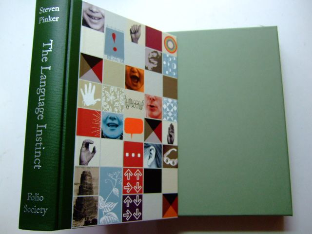 Photo of THE LANGUAGE INSTINCT written by Pinker, Steven illustrated by Martin, Andy published by Folio Society (STOCK CODE: 1802994)  for sale by Stella & Rose's Books
