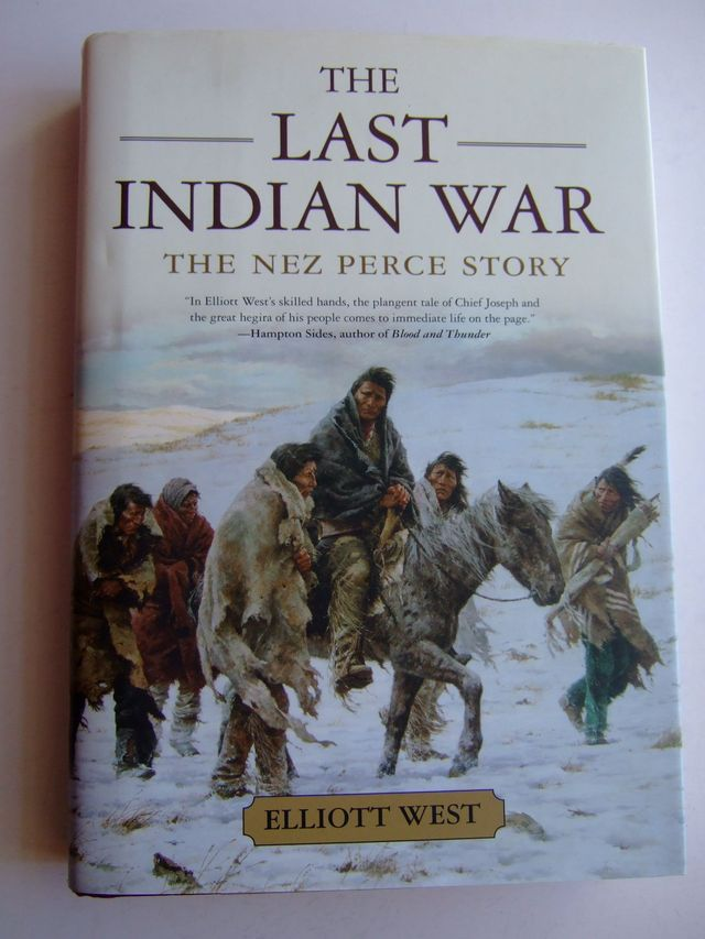 Photo of THE LAST INDIAN WAR written by West, Elliott published by Oxford University Press (STOCK CODE: 1803012)  for sale by Stella & Rose's Books