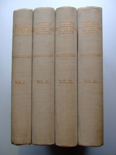 Photo of BRITISH FLOWERING PLANTS (4 VOLUMES) written by Boulger, Professor G.S. illustrated by Perrin, Mrs. Henry published by Bernard Quaritch (STOCK CODE: 1804394)  for sale by Stella & Rose's Books