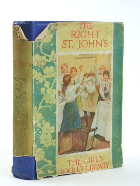 Photo of THE RIGHT ST JOHN'S written by Chaundler, Christine published by Humphrey Milford, Oxford University Press (STOCK CODE: 1804548)  for sale by Stella & Rose's Books